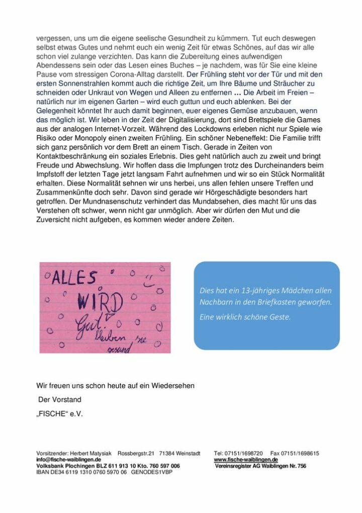 thumbnail of Mitgliederschreiben April 2021 – 2